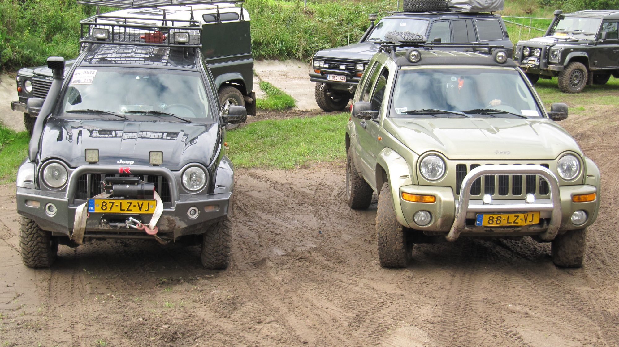 4wd festival Oss Holland 2015 Jeep KJ finally after 12 years I met