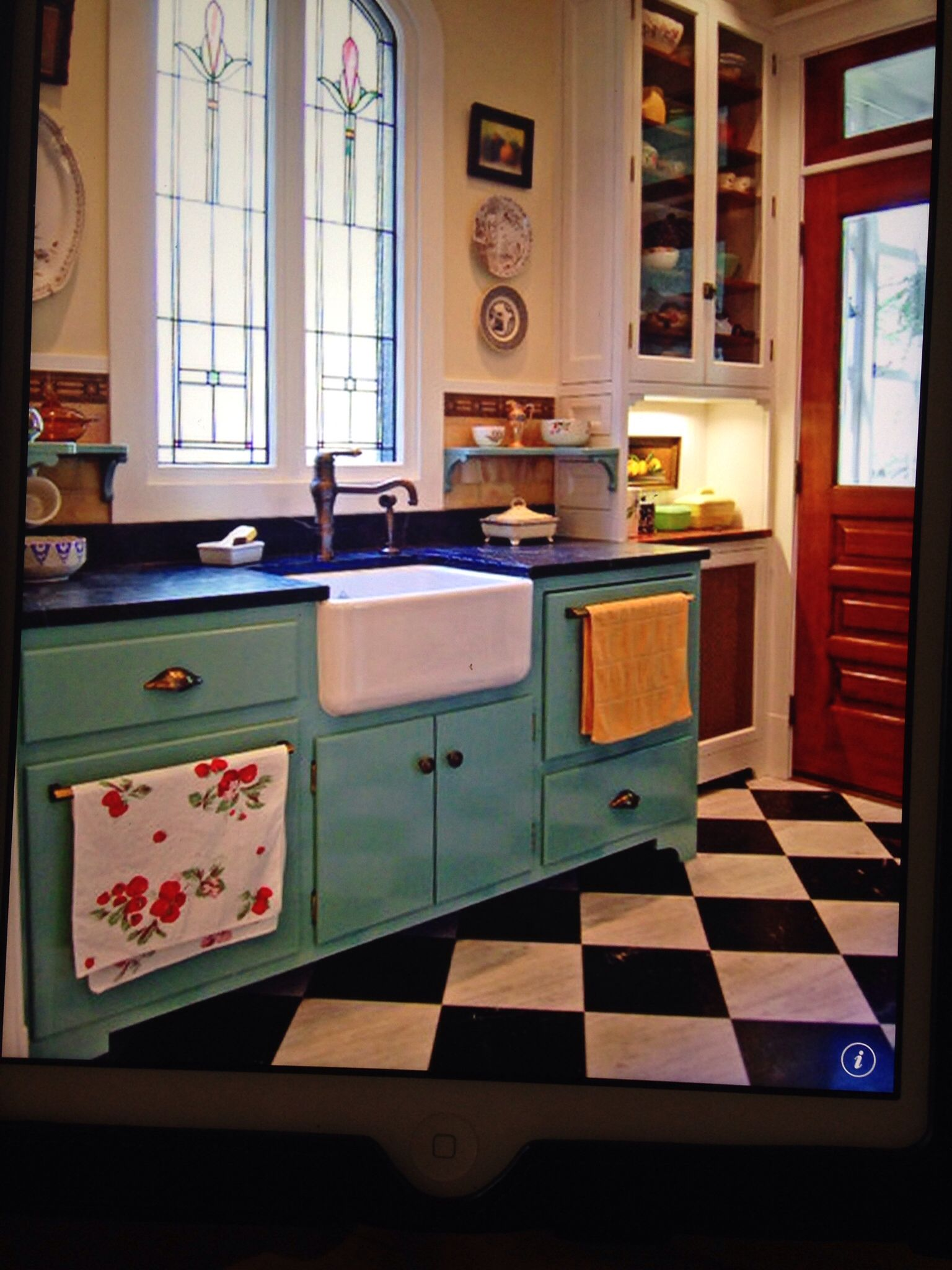 Retro Kitchen   kitchen   Pinterest   Retro, Kitchens and House
