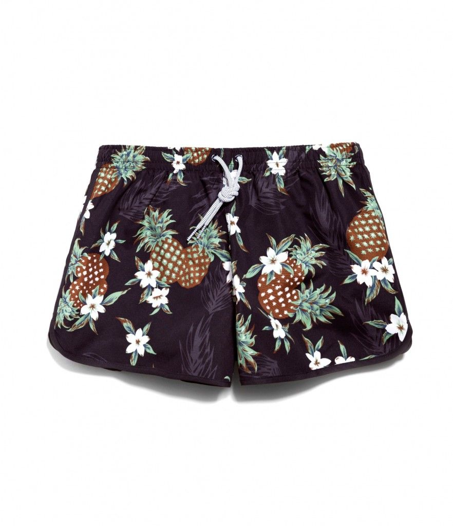 Pineapple Swim Trunks