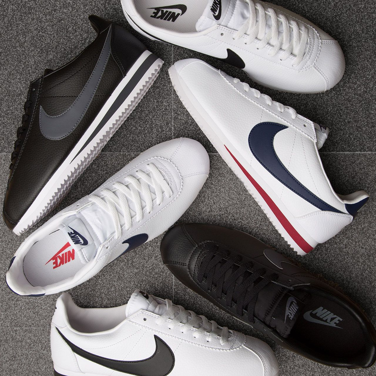 reputable site a724e c24e1 Go retro with the Nike Cortez Leather Trainer.
