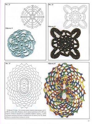 Blogger Innovart en Crochet shares some gorgeous motifs in this post!!