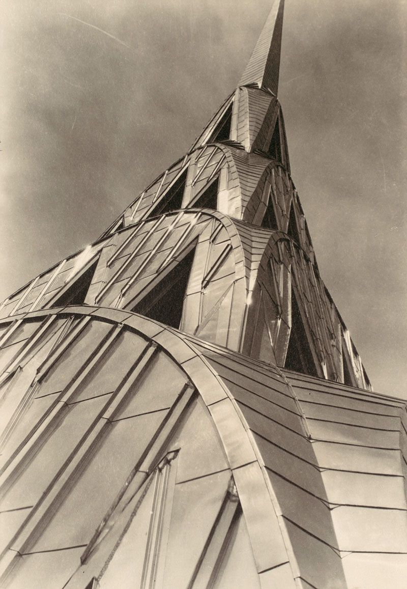1930's photo by Margaret Bourke White. NY Chrysler building