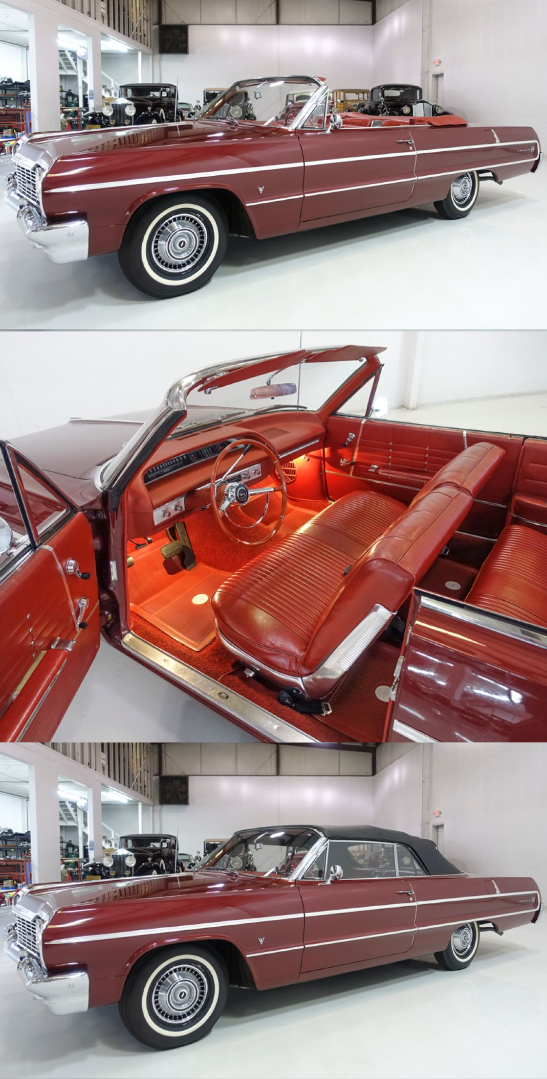 1964 Chevrolet Impala Convertible Convertible For Sale In 2020 Chevrolet Impala Chevrolet Impala