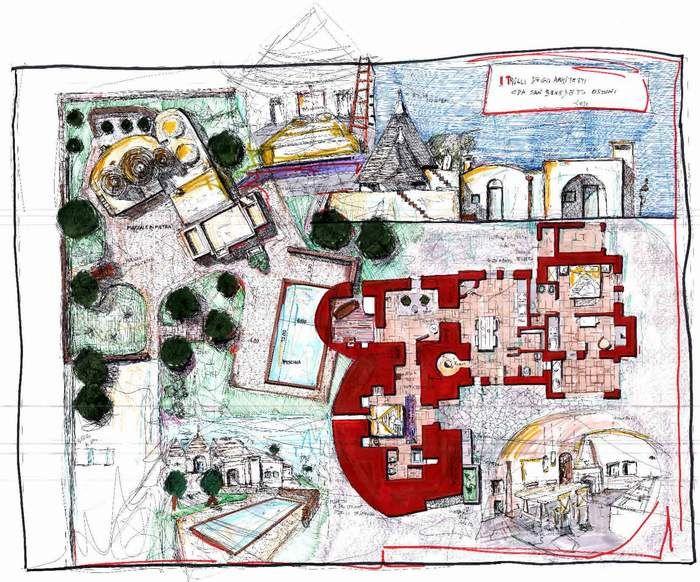 Architetti Flore & Venezia | Recupero e Restauro Trulli | Architetti Aldo Flore & Rosanna Venezia