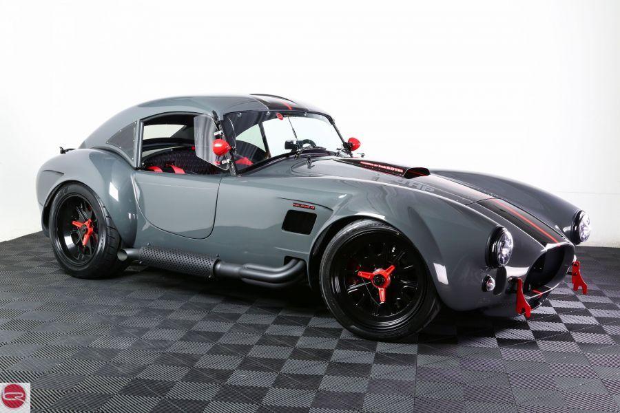 Backdraft Racing - Grigio Telestro with Black/Red/Silver