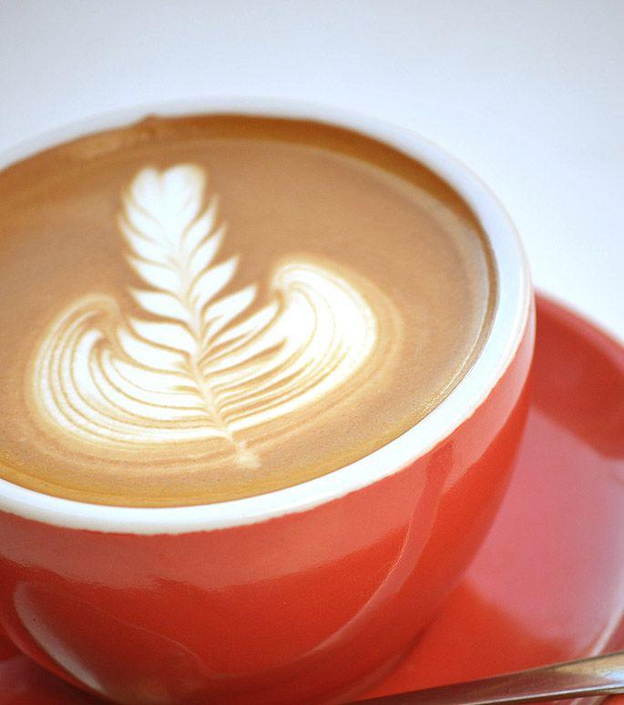 Rosetta by Barista David #latteart #coffee #rosetta #cafe #bundaberg #alowishus #coffeeporn #latte