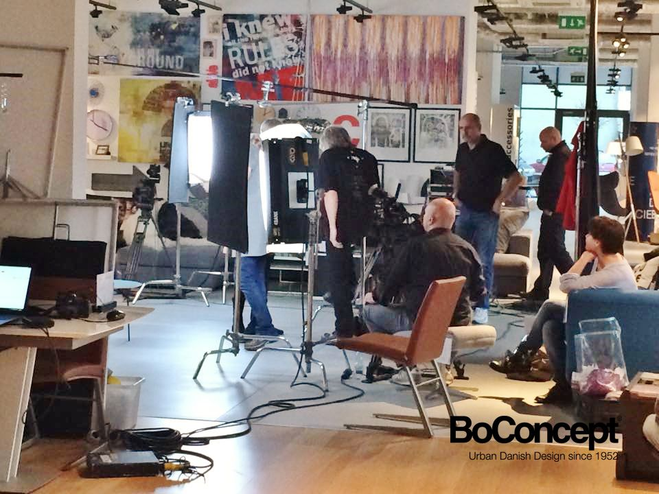 Polish TV shoots a brand new show in our showroom!
