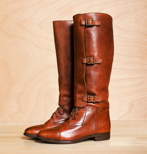 Ralph Lauren Equestrian Riding Boot   Boots, Equestrian