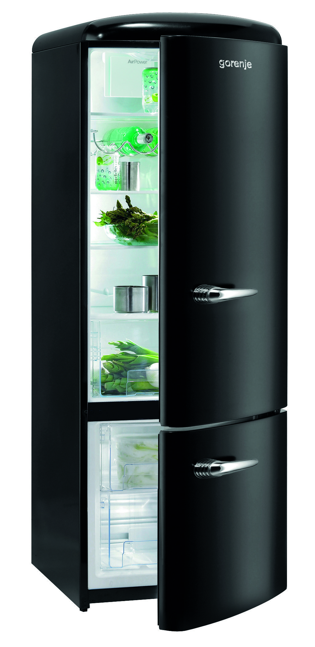 r frig rateur cong lateur gorenje rk60319obk coloris noir cuisines. Black Bedroom Furniture Sets. Home Design Ideas