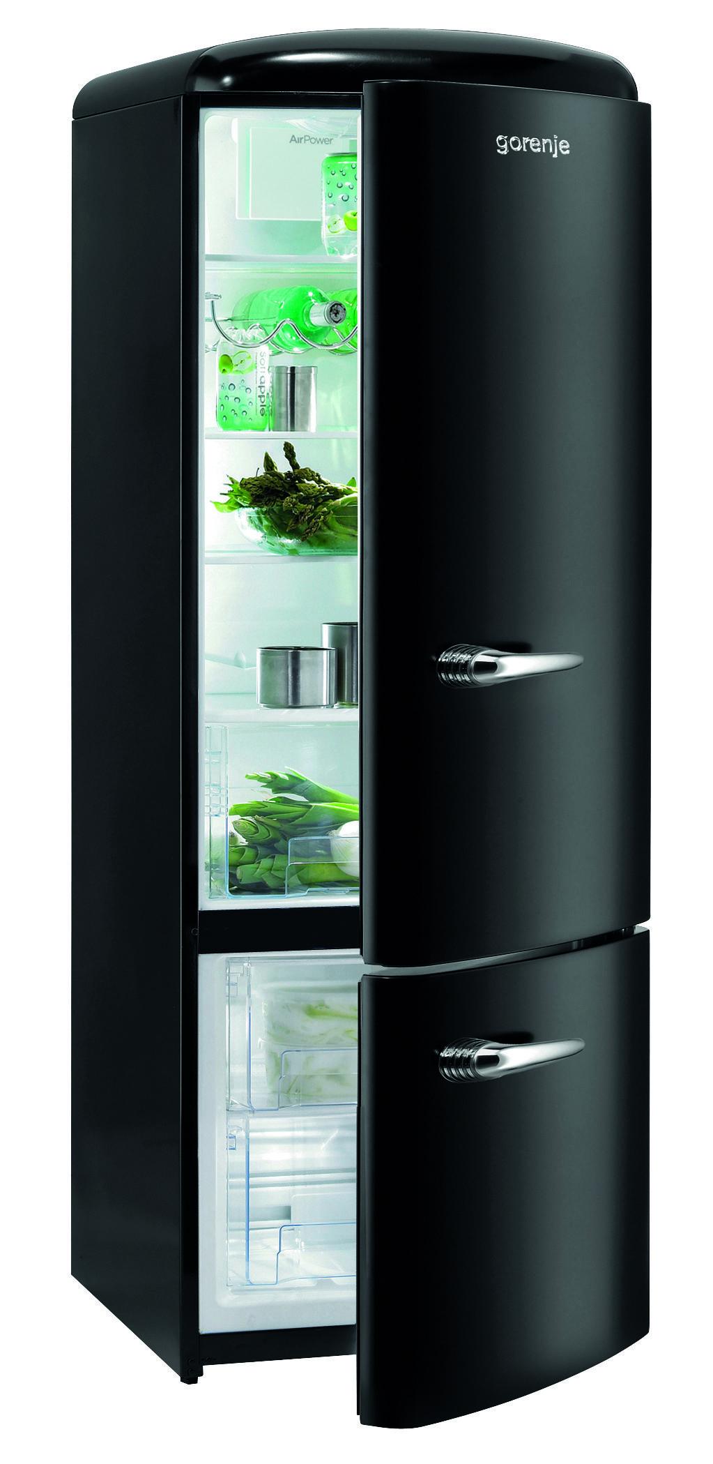 réfrigérateur congélateur gorenje rk60319obk - coloris noir - www