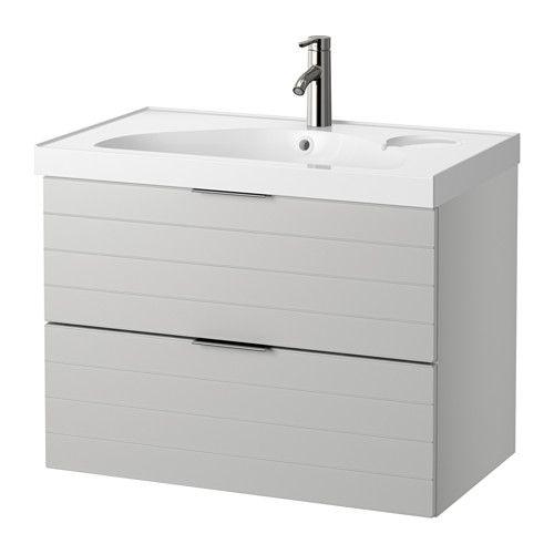 GODMORGON / EDEBOVIKEN Sink Cabinet With 2 Drawers