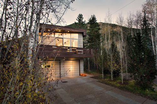 by Studio B Architects; in Aspen, Colorado
