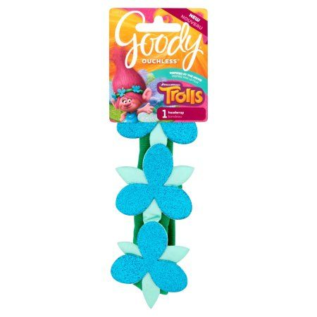 Free 2 Day Shipping On Qualified Orders Over 35 Buy Goody Trolls Poppy Flower Sparkle Headwrap At Walmart