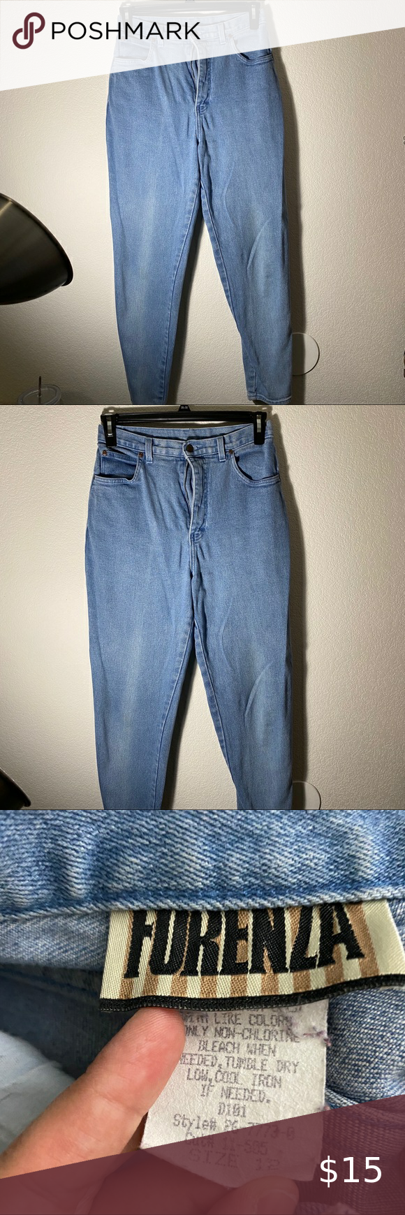 Photo of [ forenza ] vintage mom jeans very cute ! fits a size 8 best :) has no flaws and…