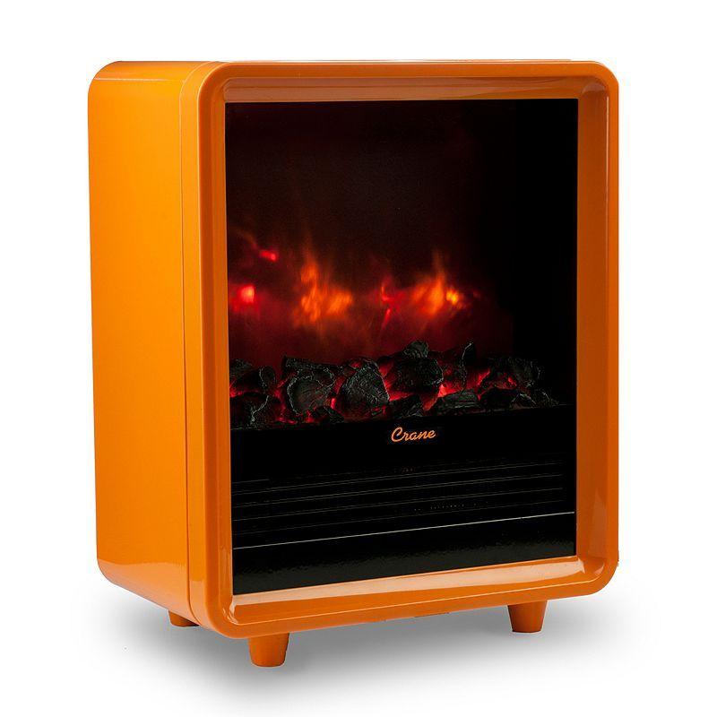 Crane Electric Mini Fireplace Heater Electric Fireplace Heater
