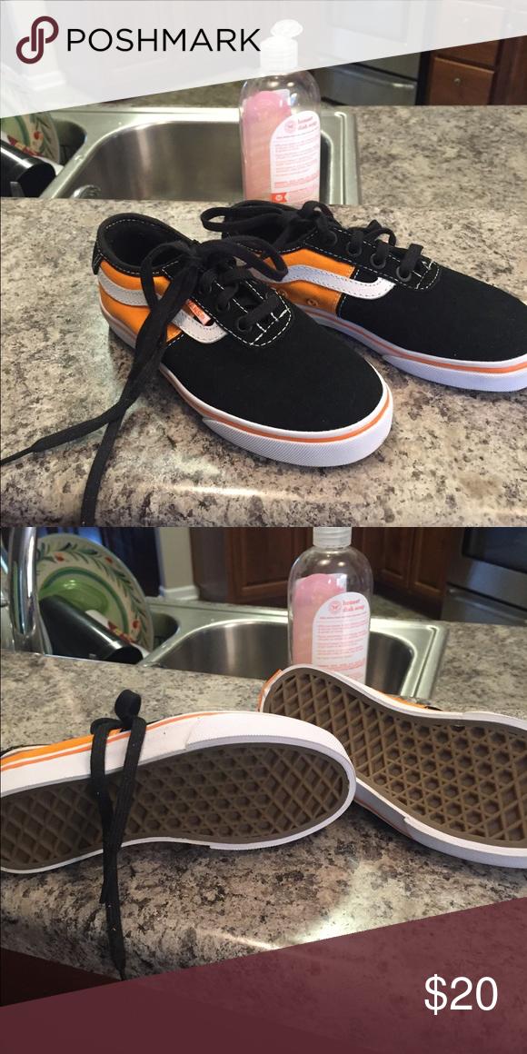 37780af714aca5 Little Boys Vans size 12.5 Brand new never worn Vans Shoes