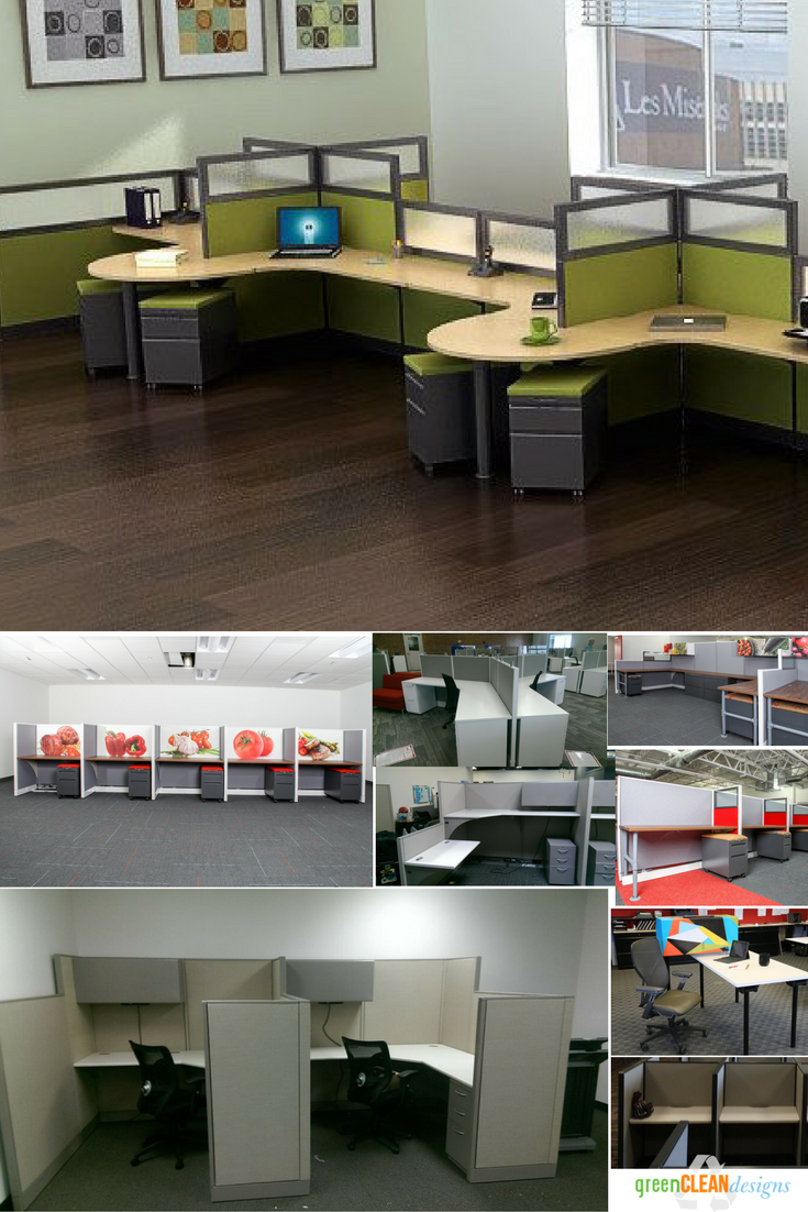 Hundreds Of Office Cubicle Options In Kansas City To Work With Any Budget.  We Have