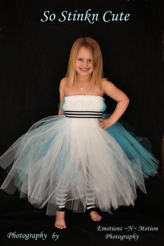 Alice In Wonderland halloween Tutu Dress 100 YARDS by SoStinknCute - halloween tutu ideas