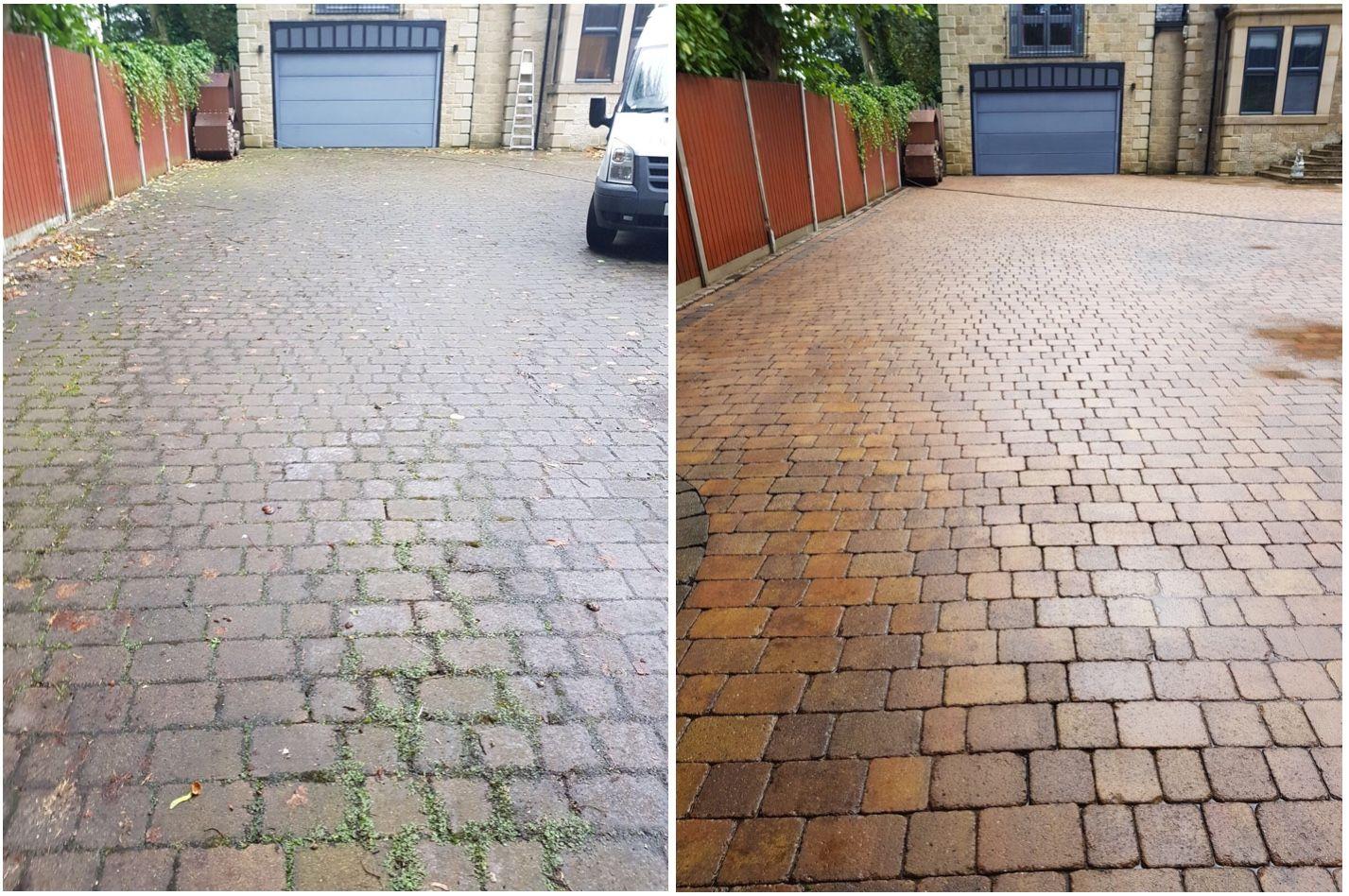 Block Paving Driveway Cleaning In Harrogate Block Paving Block