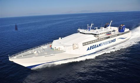 Aegean Speed Lines 2013 ferry schedules to the Greek islands of Serifos, Sifnos and Milos
