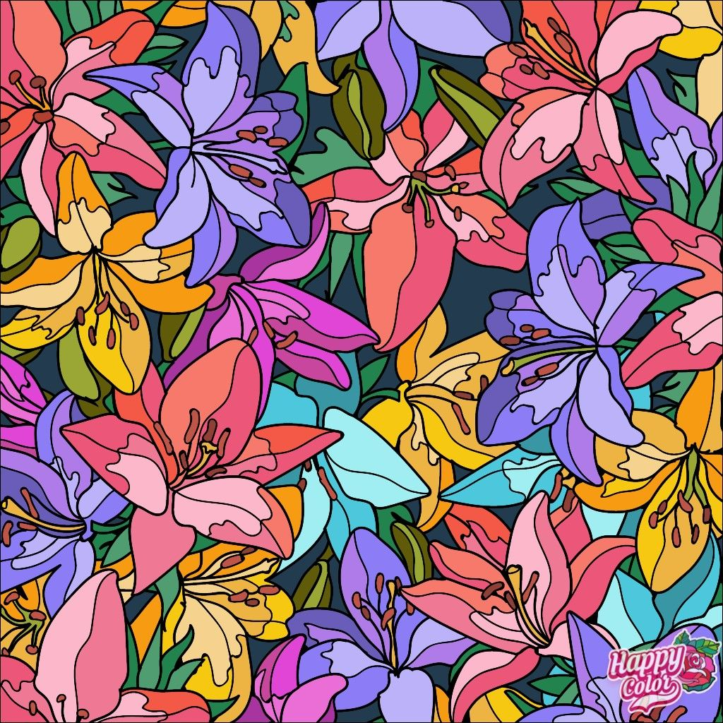 Pin by Anna Reinhardt on art | Colorful art, Happy colors ...
