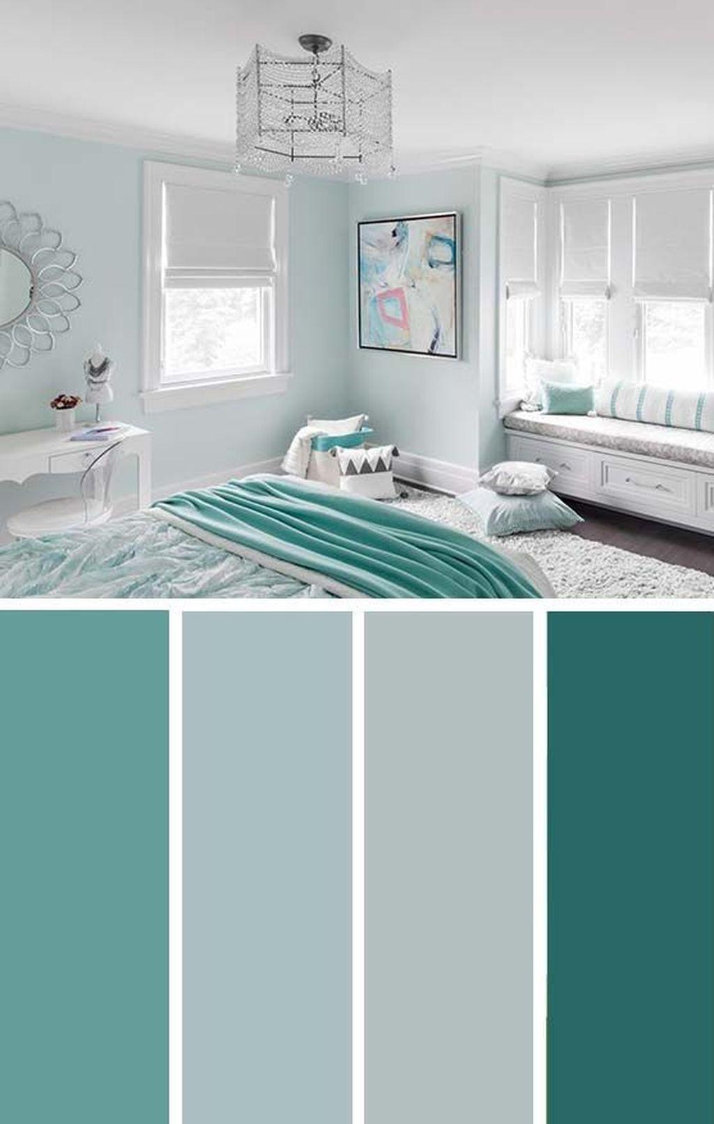 33 Latest Bedroom Color Schemes Design Ideas With Colour Palettes