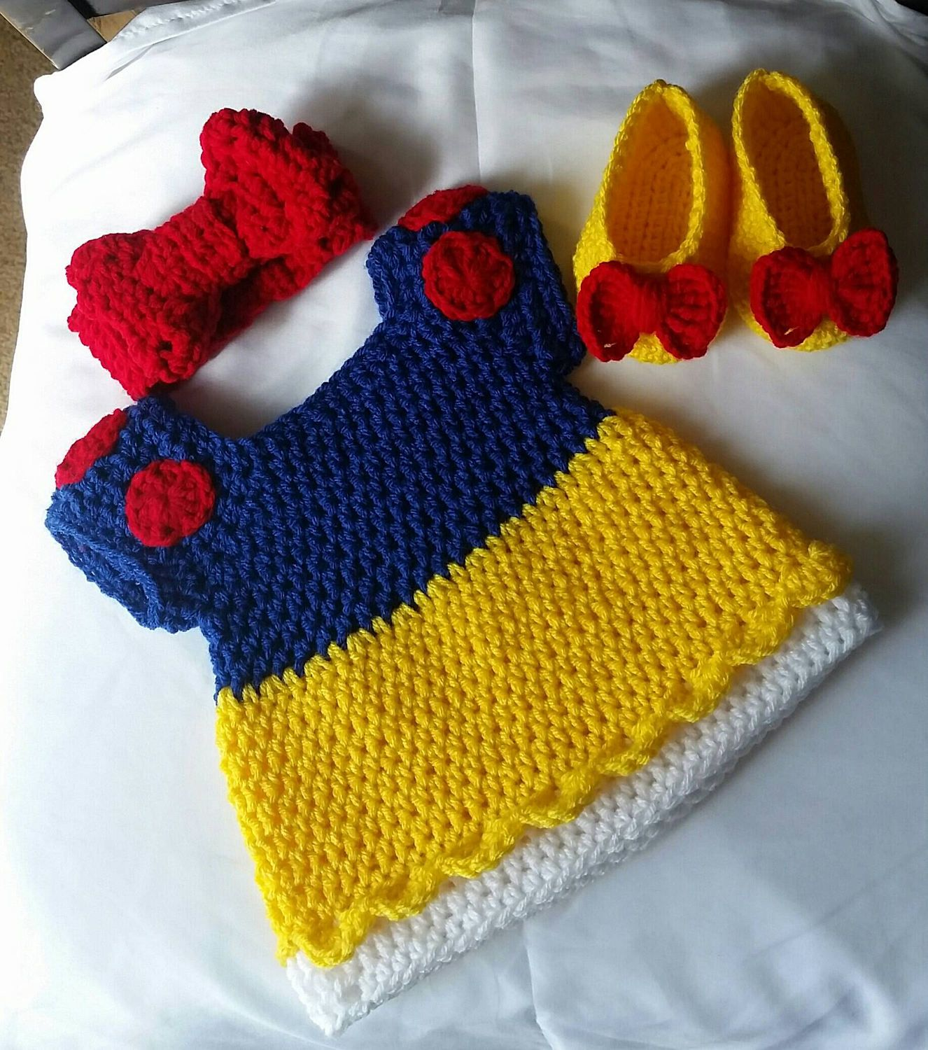 Crochet snow white costume by daisymaesboutique331 on etsy etsy crochet snow white costume by daisymaesboutique331 on etsy bankloansurffo Gallery