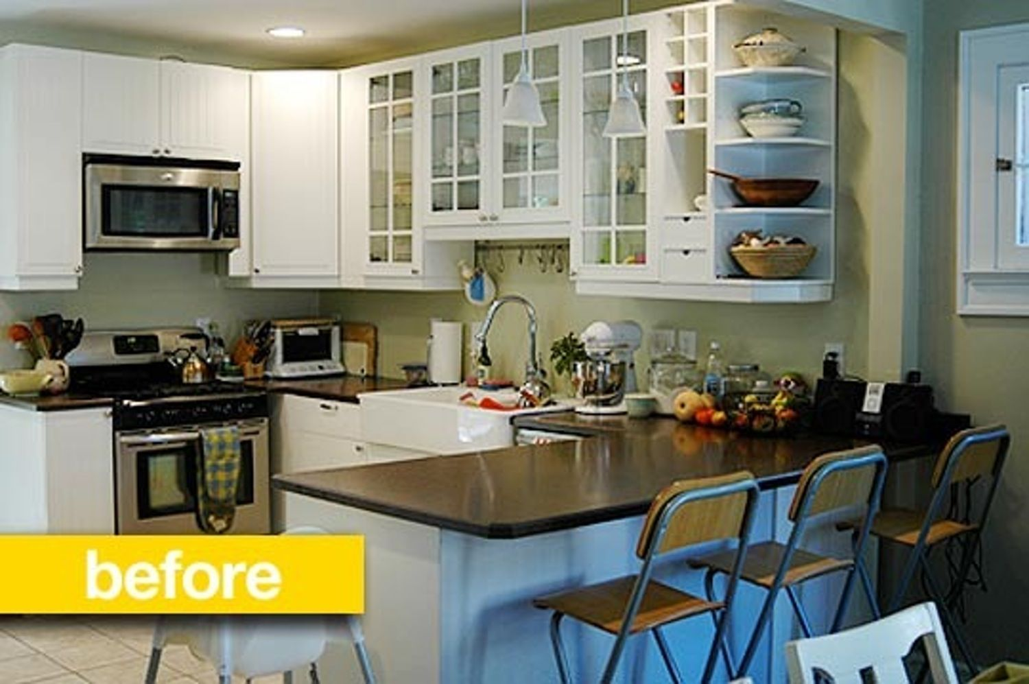 Before after katys 700 windowcentric kitchen remodel