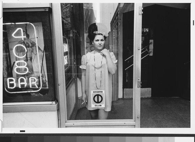 Lee Friedlander y su lente en las calles en Culton