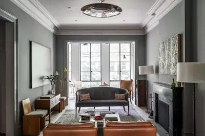 ليفنج روم كلاسيك برو In 2021 Living Room Grey Gray Painted Walls Grey Painted Floor
