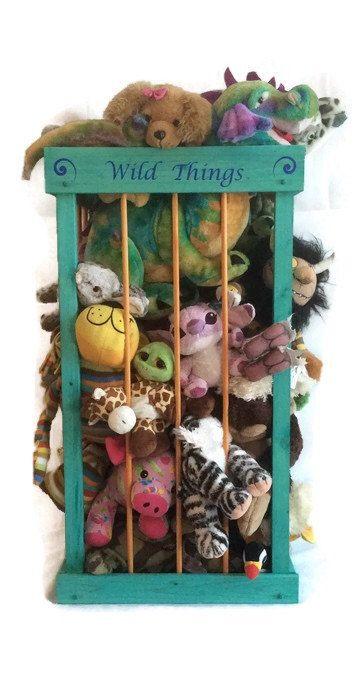 Cute Animal Collapsible Toy Storage Organizer Folding: Pick A Size, Stuffed Animal Storage, My Zoo, Stuffed