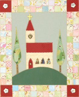 Paper Quilt - Church on the Hill