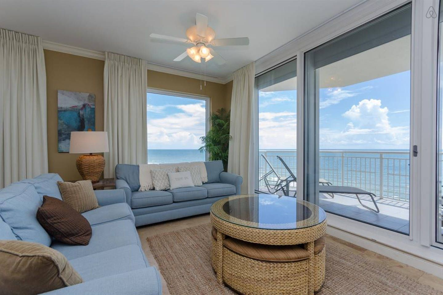 Beachfront 4BR w/ Poolside Cabana vacation rental in