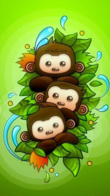 Cute Baby Monkeys Monkey Wallpaper Pictures