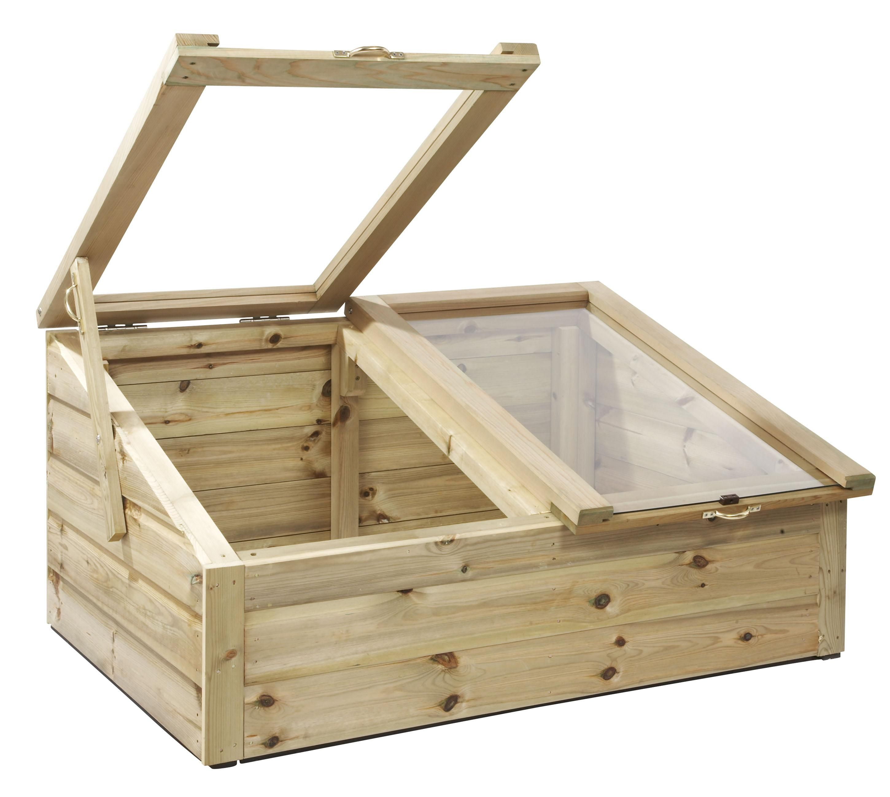 tanalised wooden cold frames x mini greenhouse