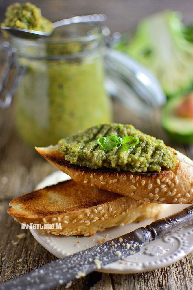 Паста из брокколи и авокадо | Рецепты закусок, Еда и Закуски
