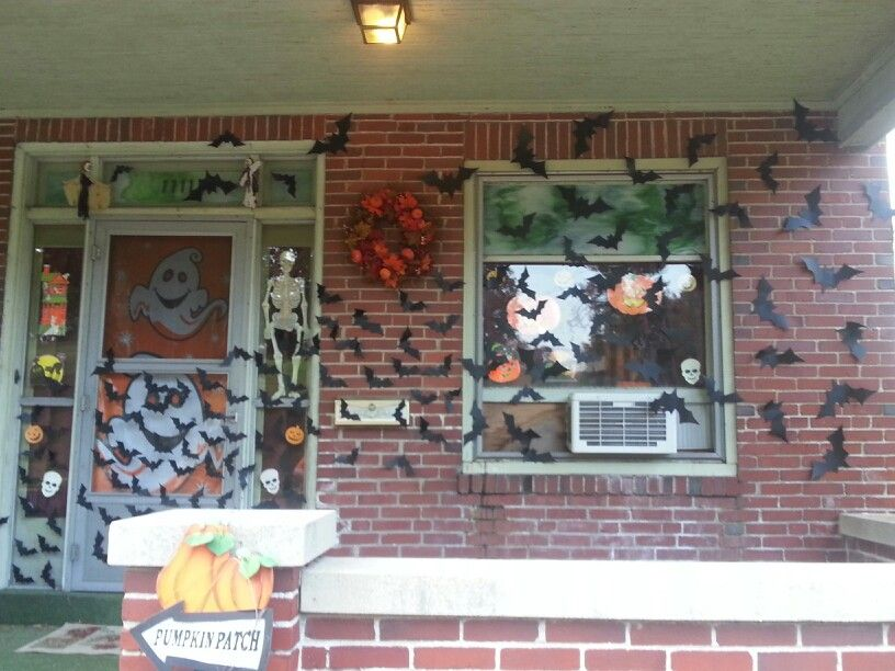 Homemade Halloween Decorations Bats Tattoos Pinterest Homemade