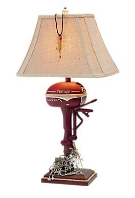 Genial Boat Motor Table Lamp | Bass Pro Shops