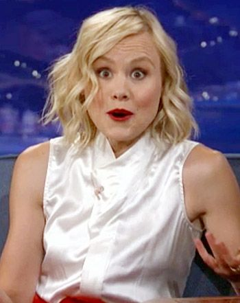 """Alison Pill: Topless Twitter Photo Accident Was """"Dumb,"""" """"Hideously Embarrassing"""""""