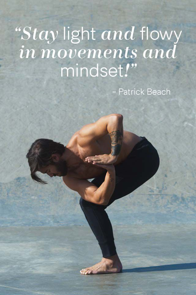 Get your yoga practice going and feel inspired by yogi Patrick Beach | H&M Sport