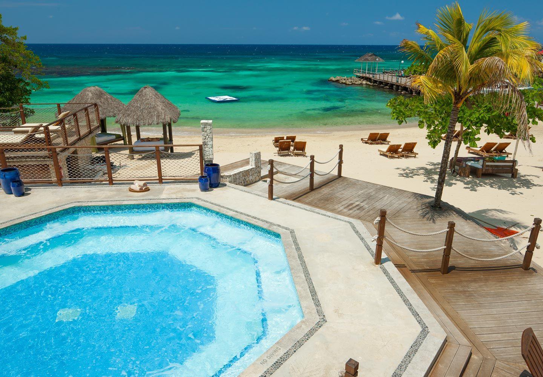 The New Sandals Ochi Beach Resort In Jamaica Is A True Garden Of Eden With Images Sandals Ochi Beach Resort Jamaica Resorts