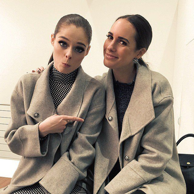 Pin for Later: Coco Rocha Refuses to Let Pregnancy Slow Down Her Style On Whether or Not There Are Overused Instagram Poses