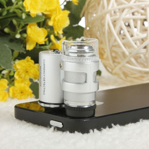60 x Zoom Microscope Magnify Magnifier Micro Lens For