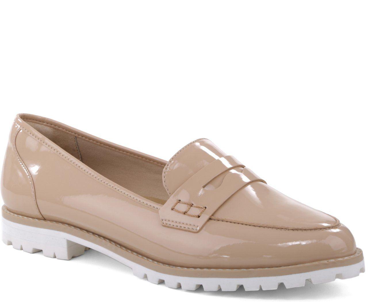 b262297ed Mocassim Sola Branca Nude | Eu quero! | Loafers men, Shoes e Dress Shoes