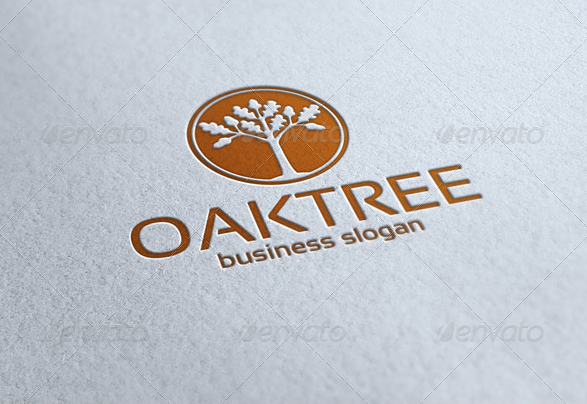 Oak Tree Logo Nature Natural Logo Tree Logos Business Slogans