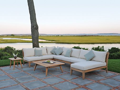 Teak U0026 IPE Patio Furniture By Gloster And Others At Fishels Contemporary  Home Furnishings, Portland