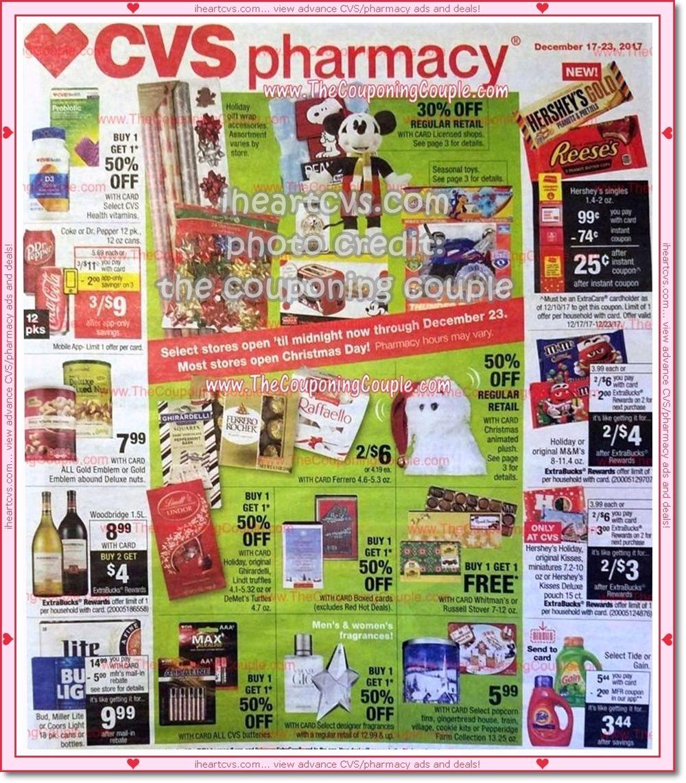 12/17 12/23 Cvs, Cvs pharmacy, Coupons