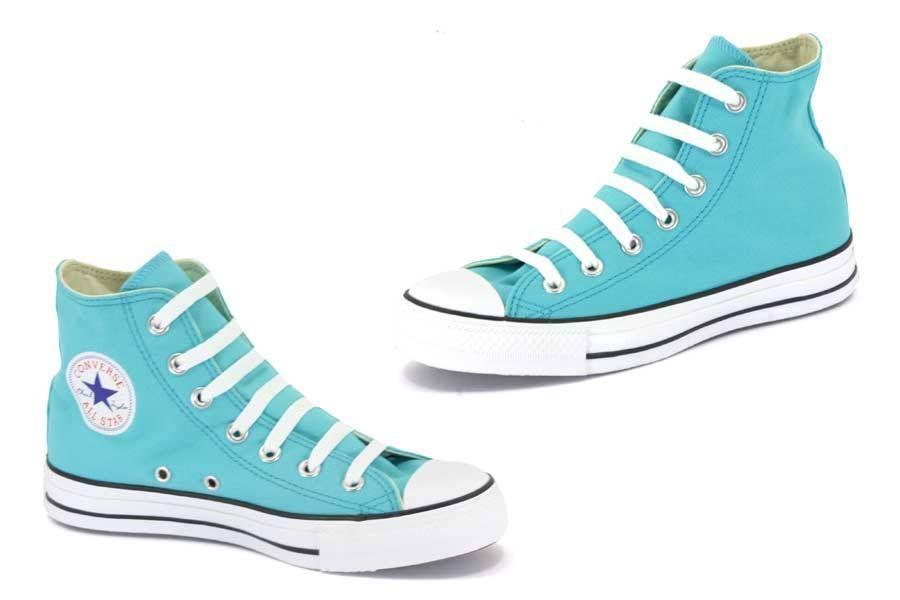 all star converse mujer azul turquesa