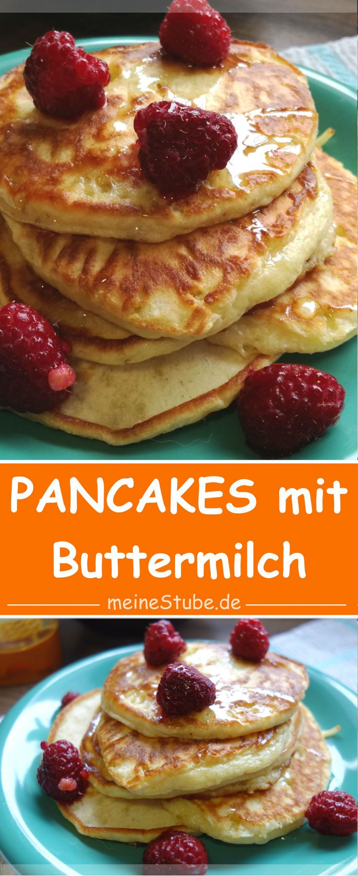 Photo of Pancakes with buttermilk, nice and fluffy – my room