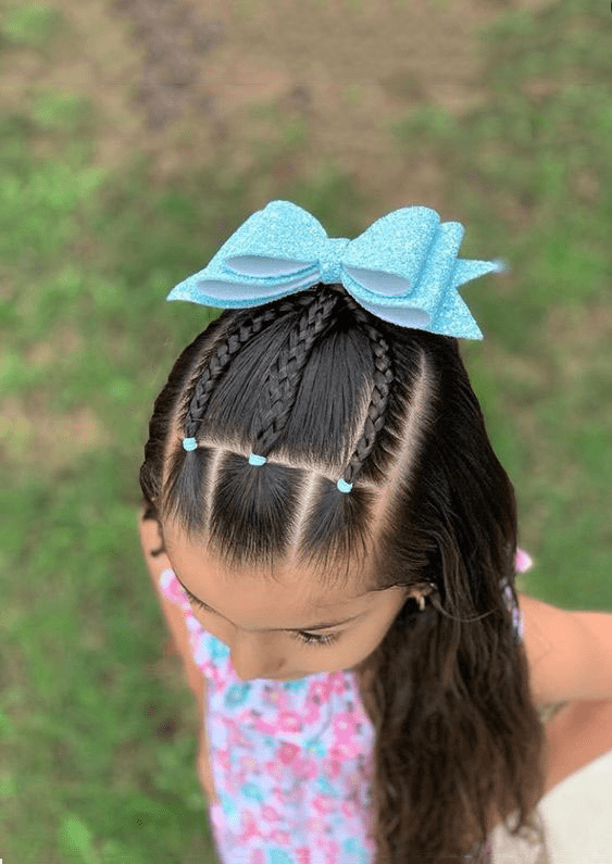 Hairstyle Kids Hairstyle Hairstyle For School Little Girls Hairstyle Childrens Little Girl Hairstyles Girls Hairstyles Easy Cute Little Girl Hairstyles